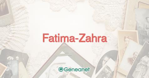 Nombre Fatima Zahra Significado Popularidad En El Tiempo Y