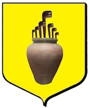 Coat of Arms of the City of Saint Quentin (Cevennes Mountains)