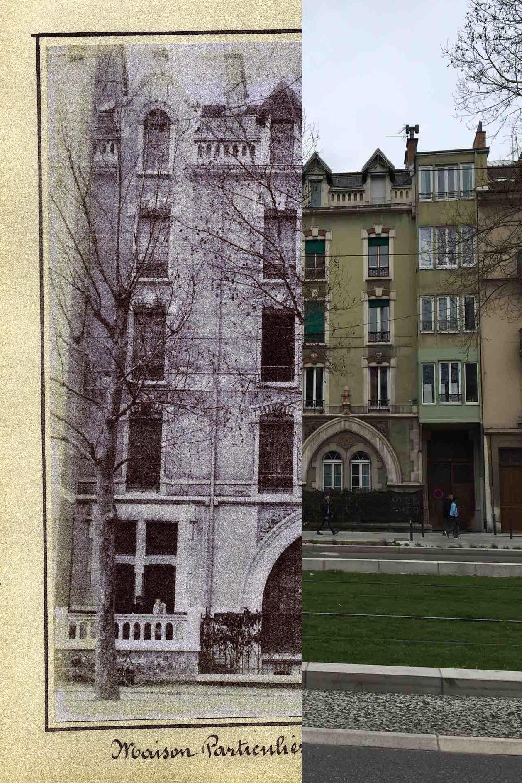 Grenoble - Maison GOYET -102 Cours Saint André à GRENOBLE