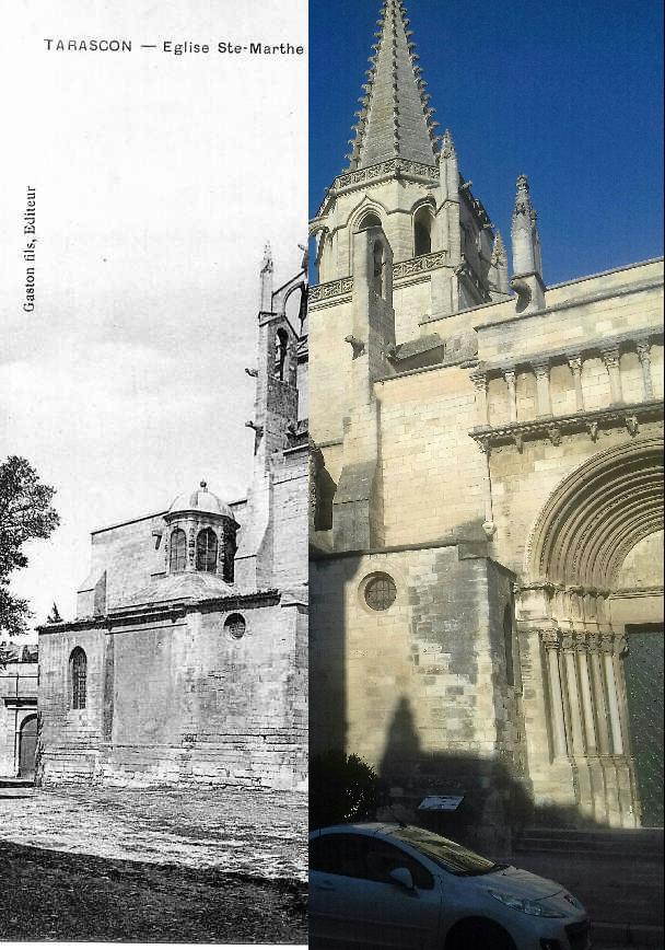 Tarascon - Eglise Ste Marthe