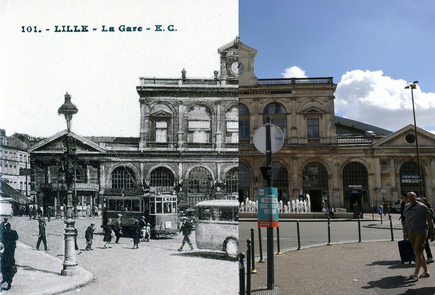 Lille - Lille : La gare